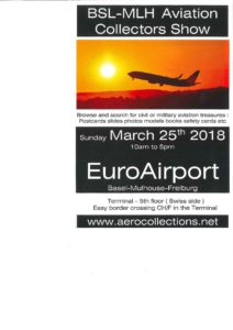 BSL-MHL Aviation Collectors Show @ EuroAirport Basel-Mulhouse-Freiburg