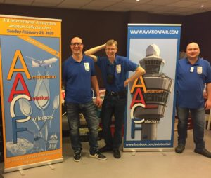 3rd INTERNATIONAL AMSTERDAM AVIATION COLLECTORS FAIR @ VAN DER VALK HOTEL SCHIPHOL A4