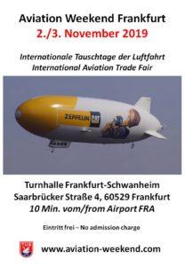 Aviation Weekend Frankfurt Schwanheim @ Turnhalle Frankfurt Schwanheim