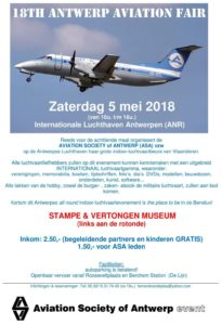 18th Antwerp Aviation Fair @ Stampe en Vertongen Museum