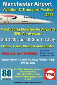 10th Manchester Aviation & Transport Festival @ Manchester Airport's Runway Visitor Park