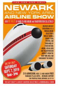 NEWARK AIRLINE SHOW @ Ramada Inn-Newark Airport