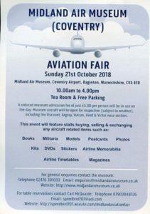 Midland Air Museum Aviation Fair @ Midland Air Museum
