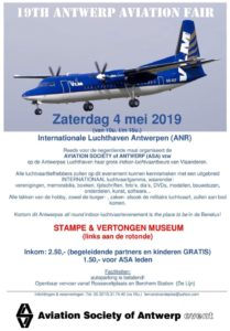19th Antwerp Aviation Fair @ Stampe & Vertonghen Museum