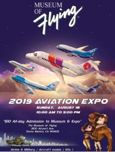 Aviation Expo and Airline Collectibles Show @ Museum of Flying Santa Monica Airport