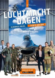Luchtmachtdagen 2019 Royal Netherlands Airforce @ Vliegbasis Volkel